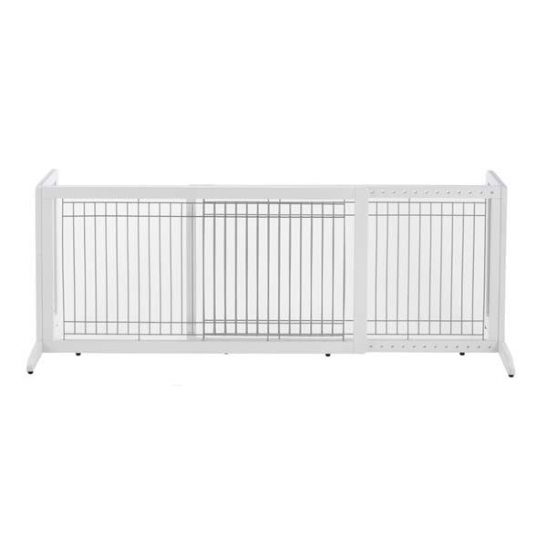 Richell Freestanding Pet Gate HL Large White 39.8