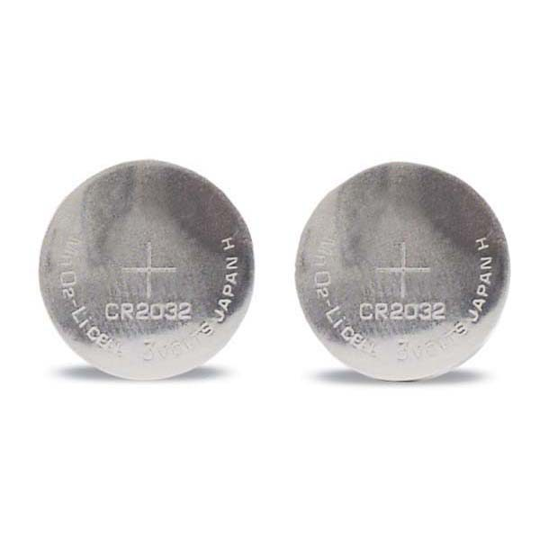 PetSafe 3 Volt Lithium Coin Cell Batteries 2 pack Silver