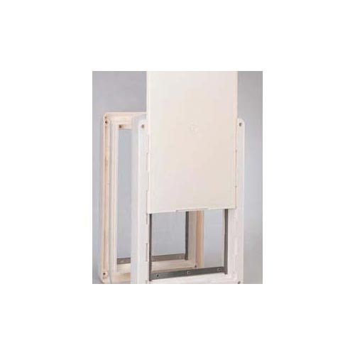 Ideal Ruff Weather Pet Door Extra Large White 9.75