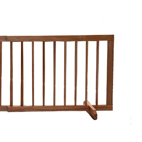 Cardinal Gates Extension For Step Over Free Standing Gate Light Oak 22
