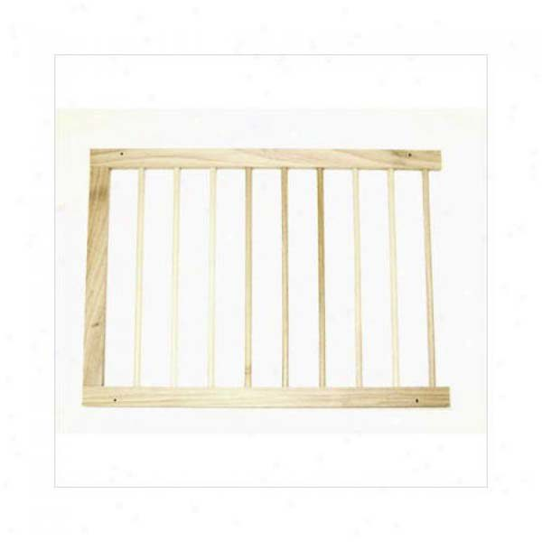 Cardinal Gates Extension For Step Over Free Standing Gate Natural Wood 22