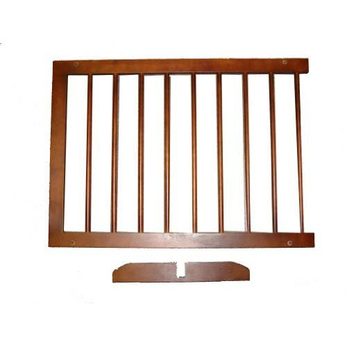 Cardinal Gates Extension For Step Over Free Standing Gate Walnut 22